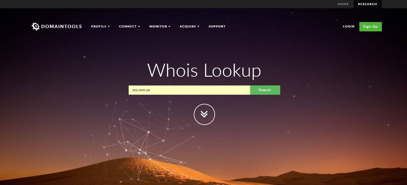 whois main page